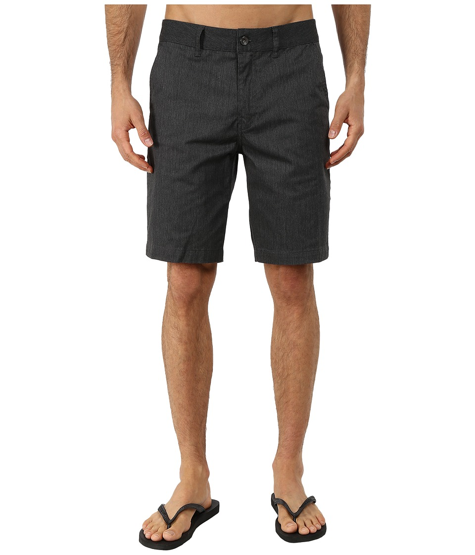 Reef - Auto Redial 4 Walkshorts (Black) Men's Shorts