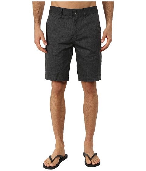Reef - Auto Redial 4 Walkshorts (Black) Men