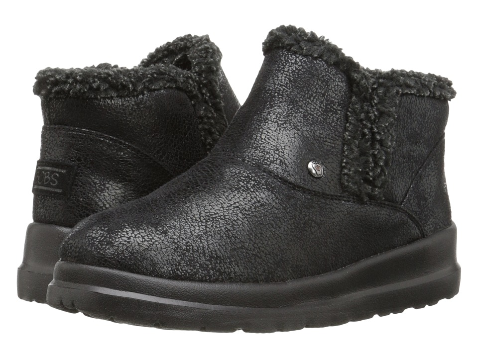 BOBS from SKECHERS Cherish Tippy Toes (Black) Women