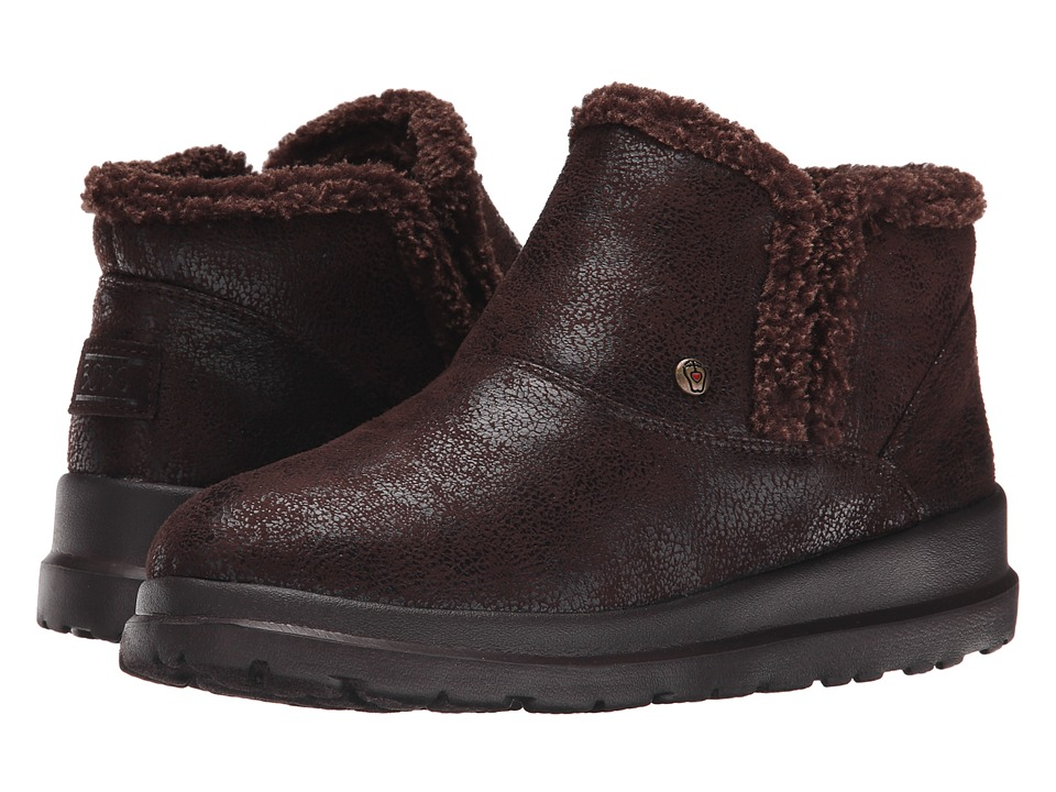 BOBS from SKECHERS Cherish Tippy Toes (Chocolate) Women