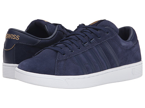 K-Swiss - Hoke SDE CMF (Navy/White) Men's Shoes