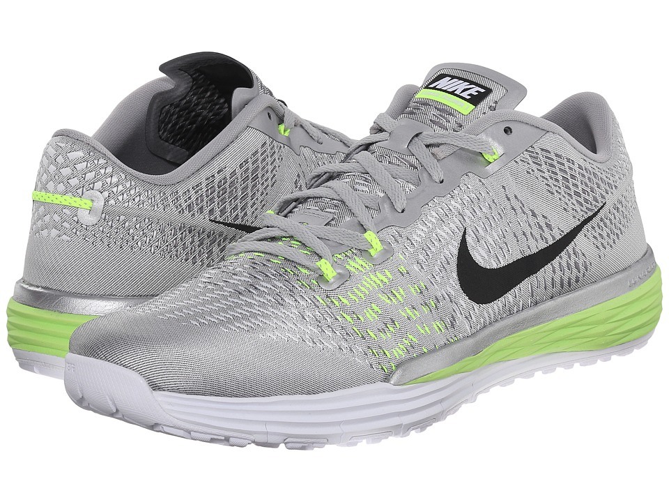 Nike - Lunar Caldra (Metallic Silver/Black/White/Volt) Men's Cross Training Shoes