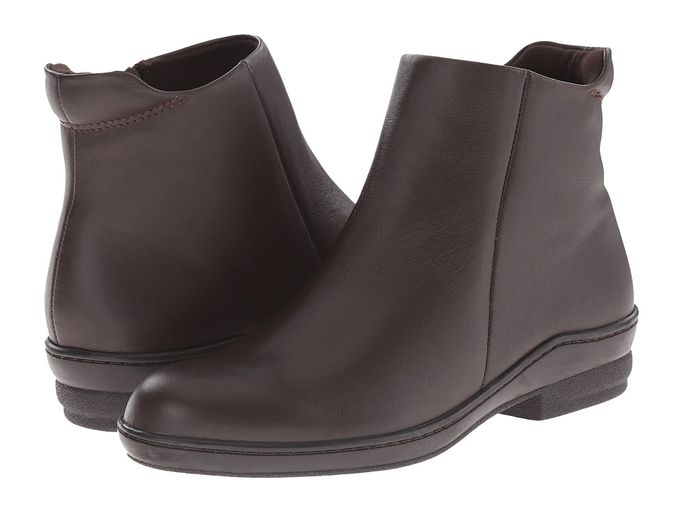 David Tate - Simplicity (Brown) Women's Zip Boots