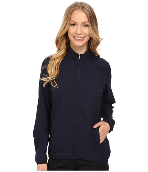 adidas Golf - Essentials Full Zip Wind Jacket (Navy/Navy) Women