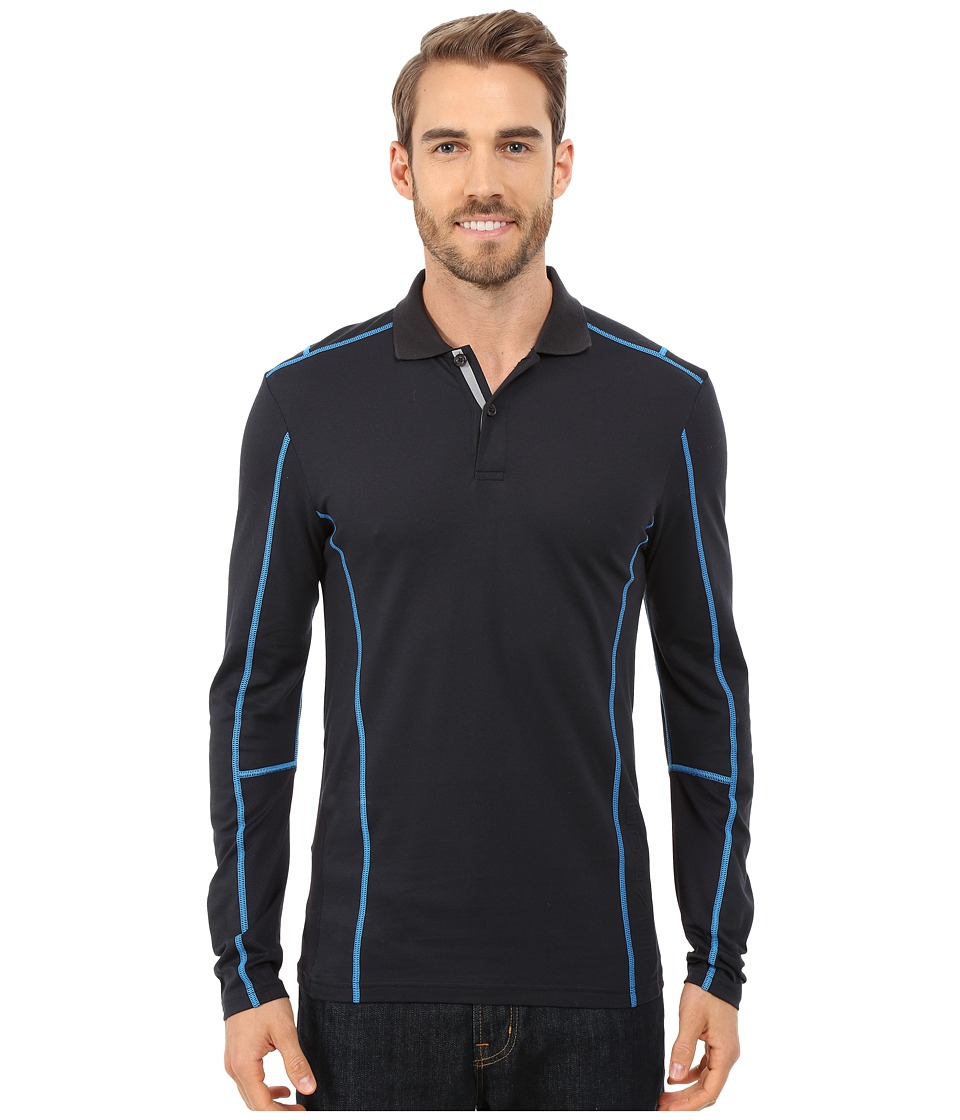 Bogner - Pitch Long Sleeve Pullover (Dark Blue) Men's Long Sleeve Pullover