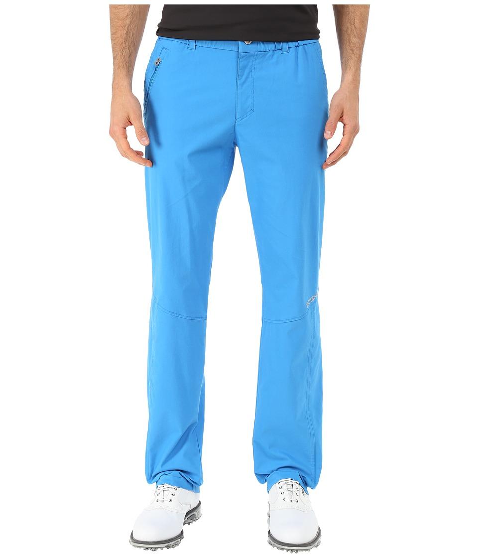 Bogner - Marco-G Techno Stretch Golf Pants (Ocean Blue) Men's Casual Pants