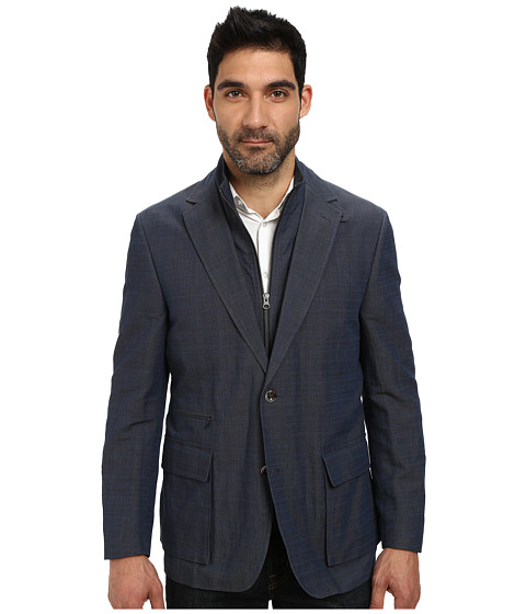 Kroon - Commodore Blazer with Removable Bib (Charcoal) Men