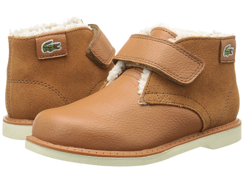 Lacoste Kids - Sherbrook-HI ELY FA15 (Toddler/Little Kid) (Tan) Boy's Shoes