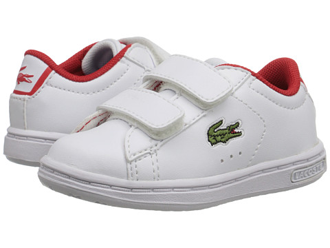 Lacoste Kids - Carnaby EVO ADV FA15 (Toddler/Little Kid) (White) Boy