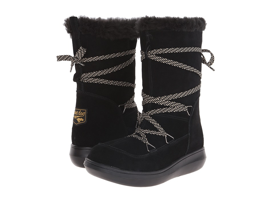 Rocket Dog - Snowcrush (Black Suede) Women's Boots