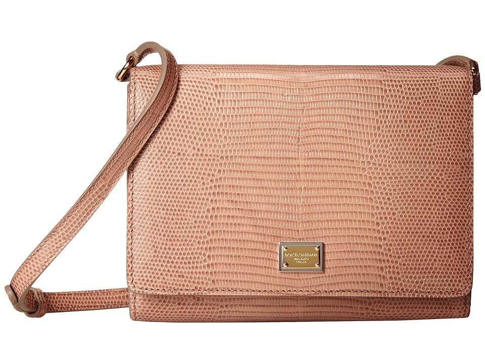 Dolce & Gabbana - BB5976AC279 (Blush) Cross Body Handbags
