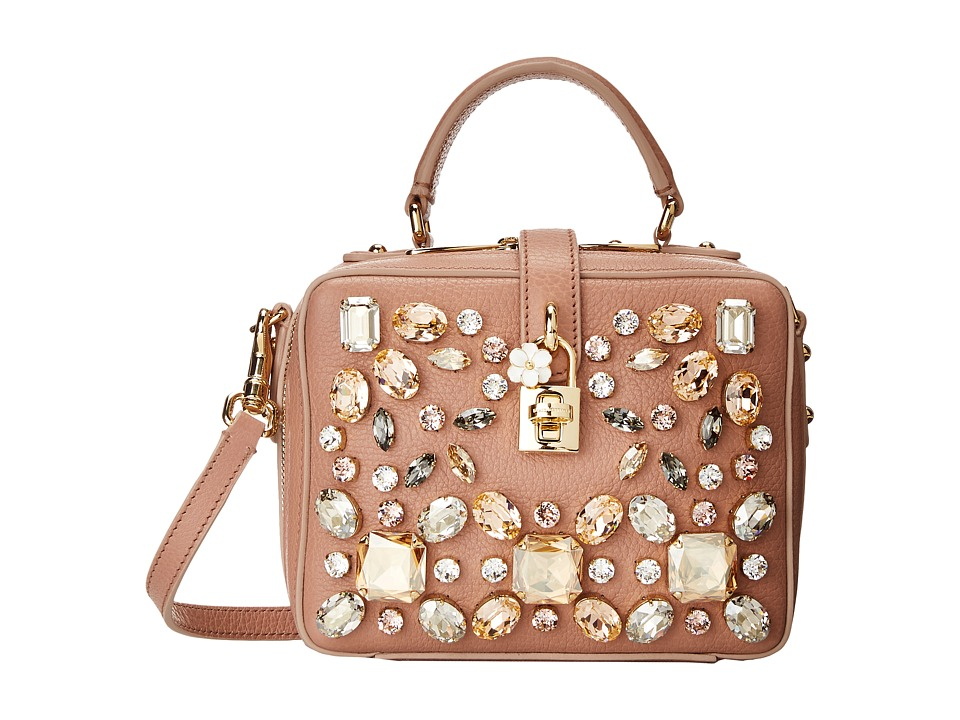 Dolce & Gabbana - Mini Bag (Blush) Cross Body Handbags