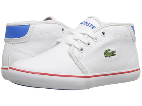 Lacoste Kids - Ampthill Chunky ADV FA15 (Little Kid) (White) Boy's Shoes