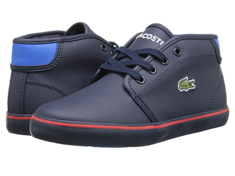 Lacoste Kids - Ampthill Chunky ADV FA15 (Little Kid) (Dark Blue) Boy