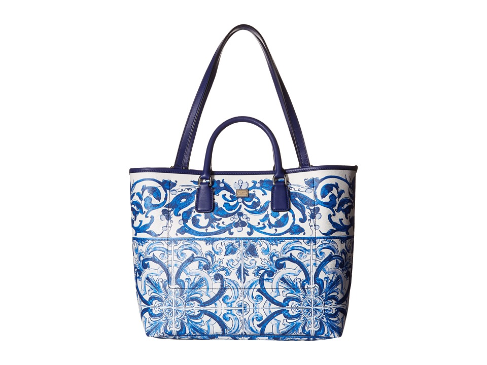 Dolce & Gabbana - Tote Bag (Blue/White) Tote Handbags