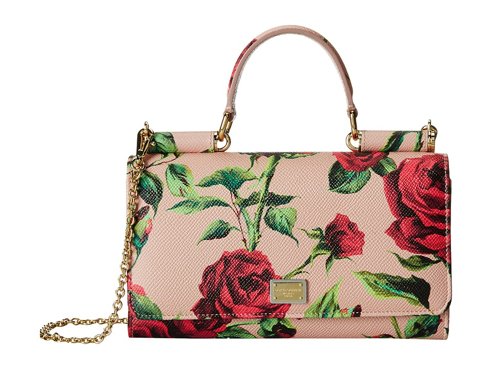 Dolce & Gabbana - Mini Bags Portfolio (Blush Background) Briefcase Bags