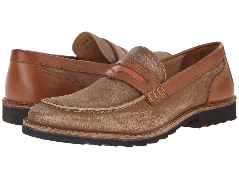Tommy Bahama - Giltbert (Washed Tan) Men's Slip-on Dress Shoes