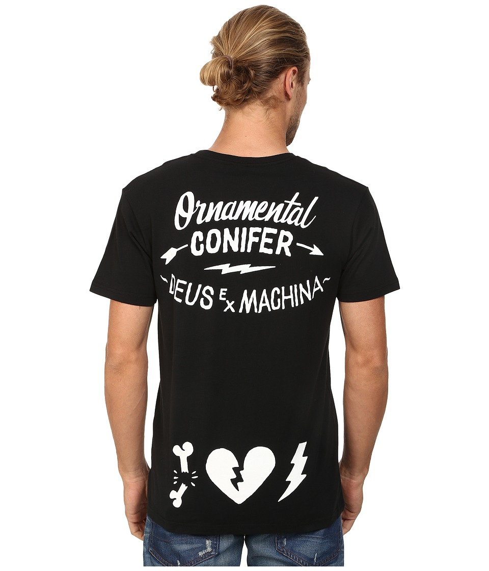 Deus Ex Machina - Bone Heart Tee (Black) Men's T Shirt