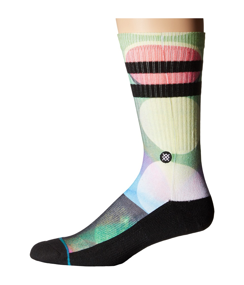 Stance - Darts (Green) Men's Crew Cut Socks Shoes