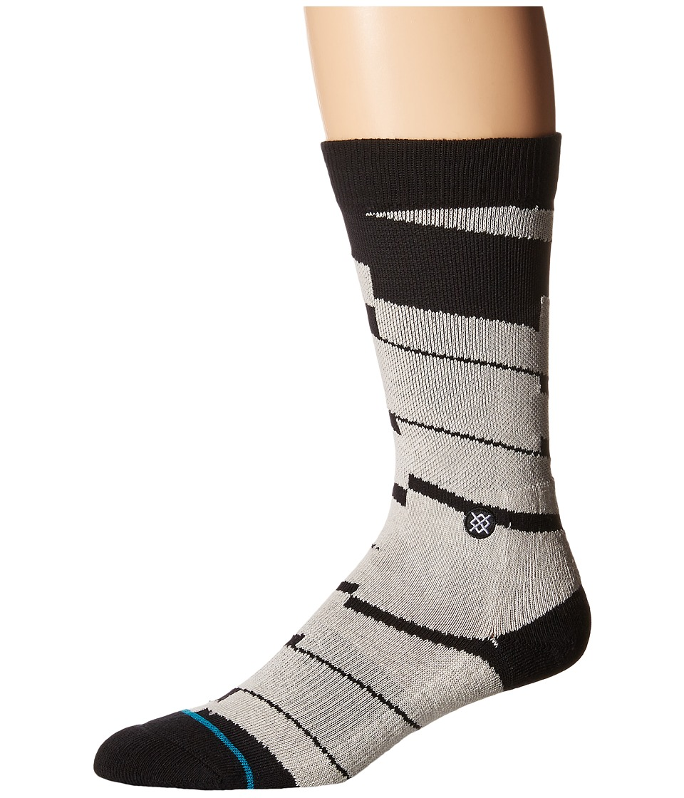 Stance - Catacomb (Black) Men's Crew Cut Socks Shoes