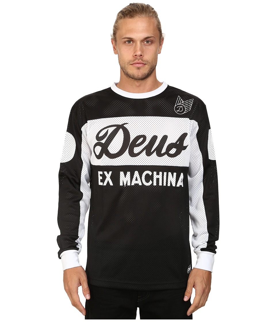 Deus Ex Machina - Deus Moto X 4 (Black) Men's Clothing