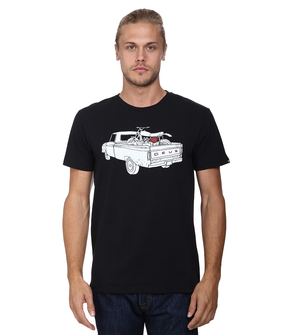 Deus Ex Machina - Kay Arh Tee (Black) Men's T Shirt
