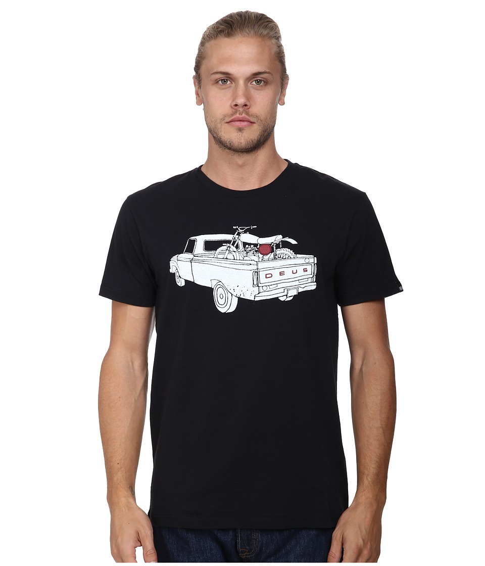 Deus Ex Machina - F100 Tee (Black) Men's T Shirt