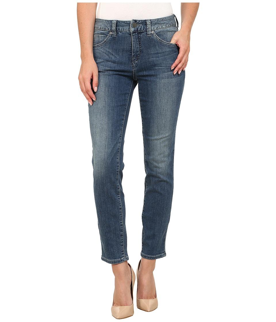 Miraclebody Jeans - Joan Raw Hem Ankle Jeans in Hemlock Blue (Hemlock Blue) Women's Jeans
