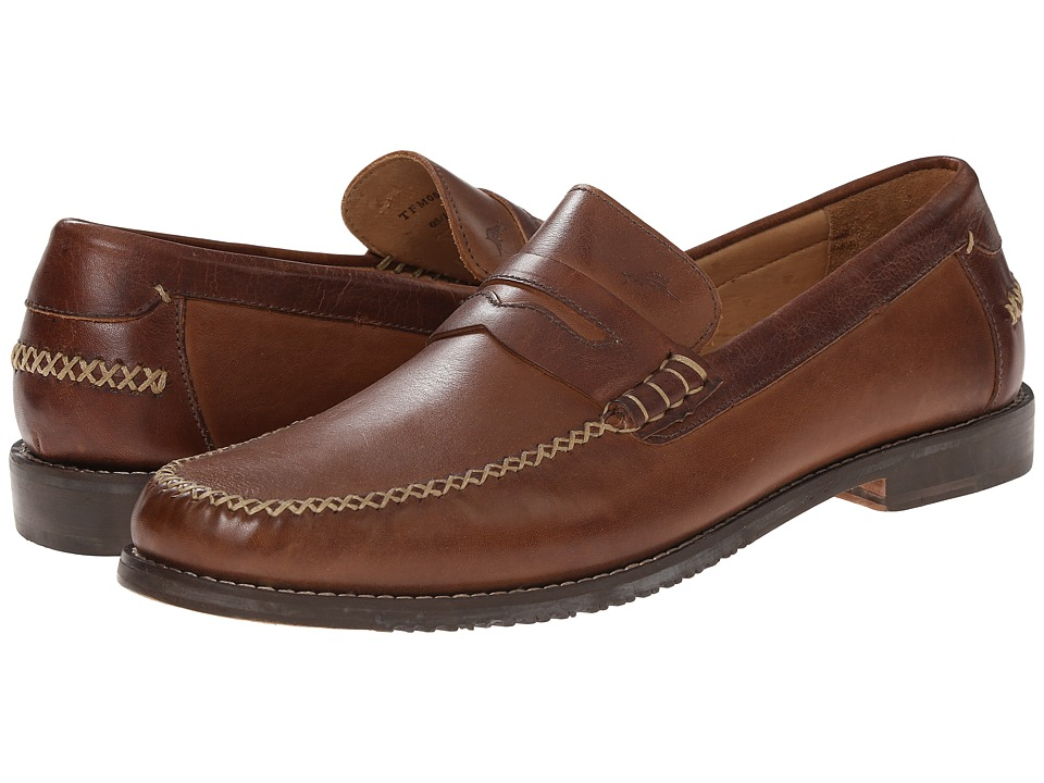 Tommy Bahama - Finlay Penny (Tan/Brown) Men's Slip on Shoes