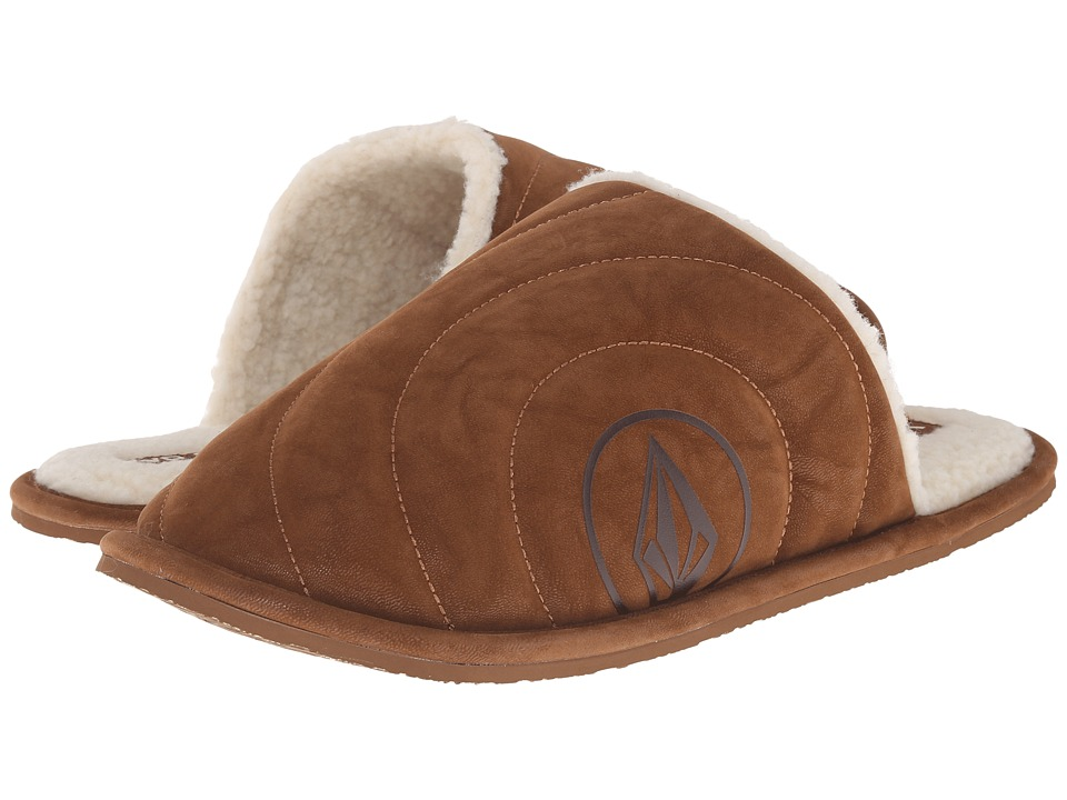 Volcom - Slacker Slipper (Cognac 1) Men