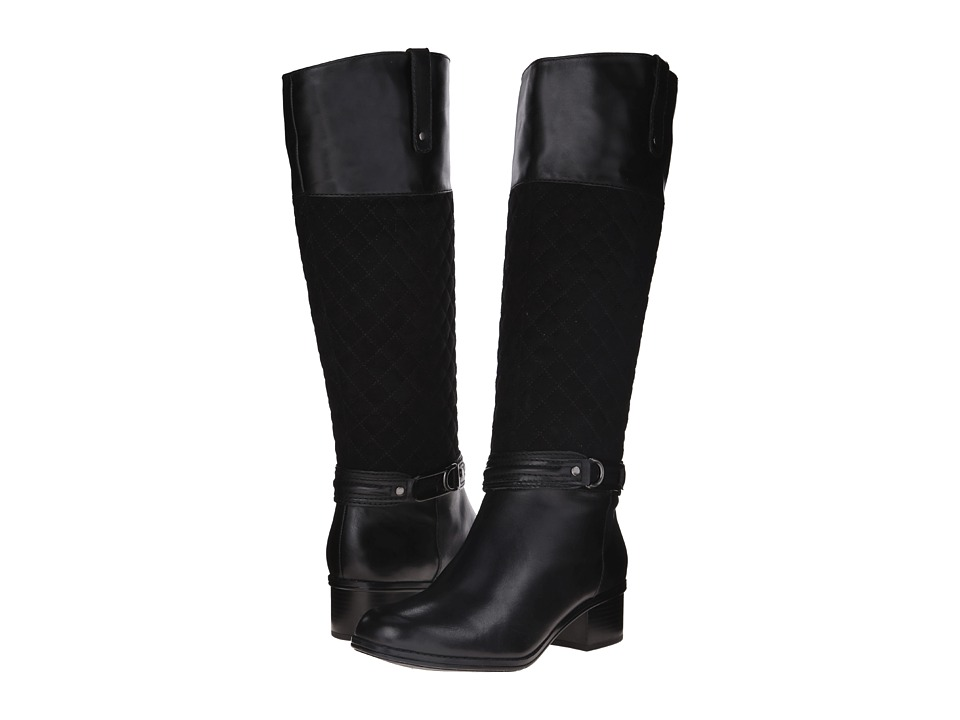 Bandolino Cabbey (Black/Black Leather) Women