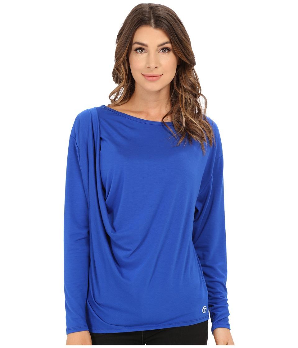 Trina Turk Draped Dolman (Azul) Women