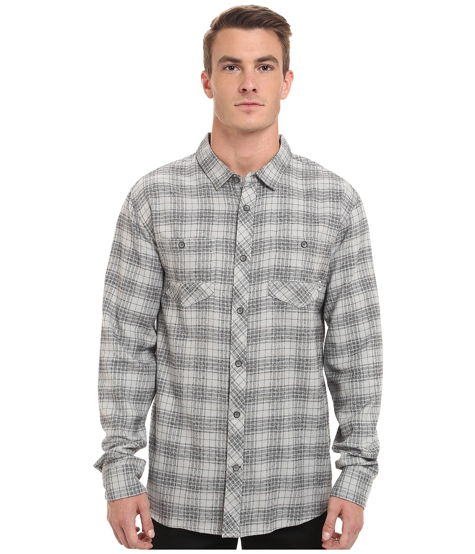 Reef - Cold Dip 6 Shirt (Light Grey) Men's Clothing