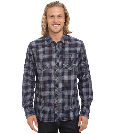 Reef - Cold Dip 6 Shirt (Indigo) Men's Clothing