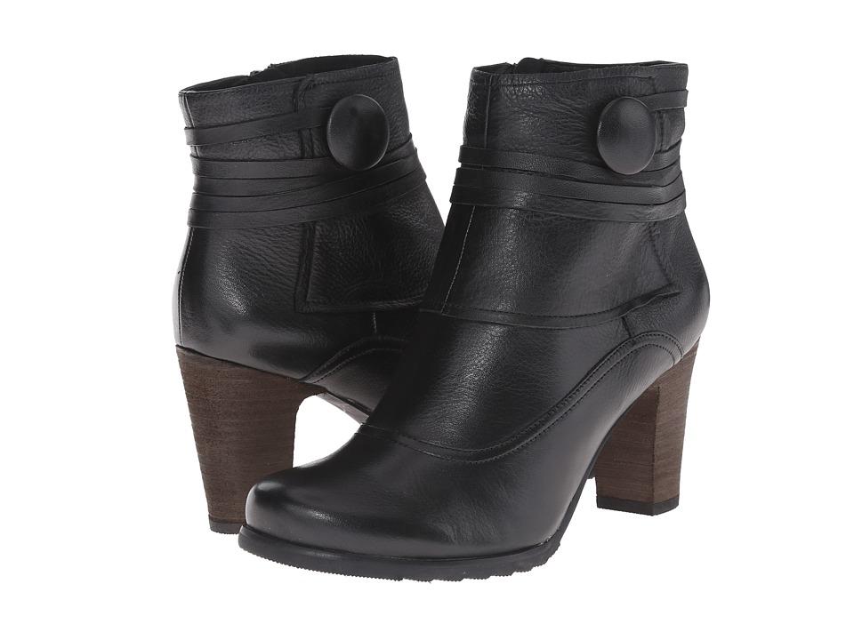 Miz Mooz - Nikos (Black) Women's Zip Boots