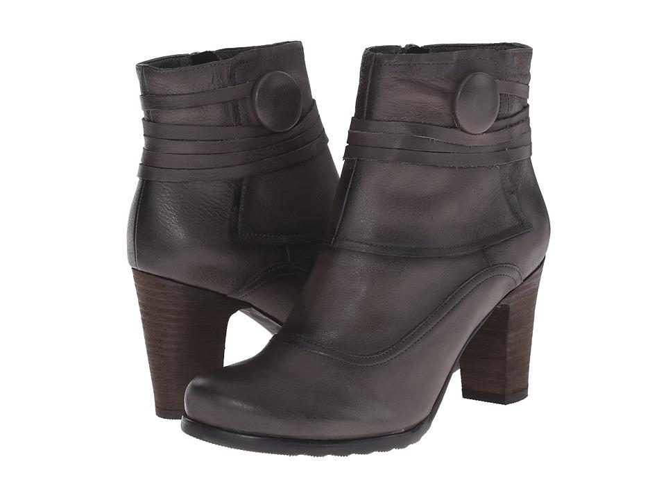 Miz Mooz - Nikos (Grey) Women's Zip Boots