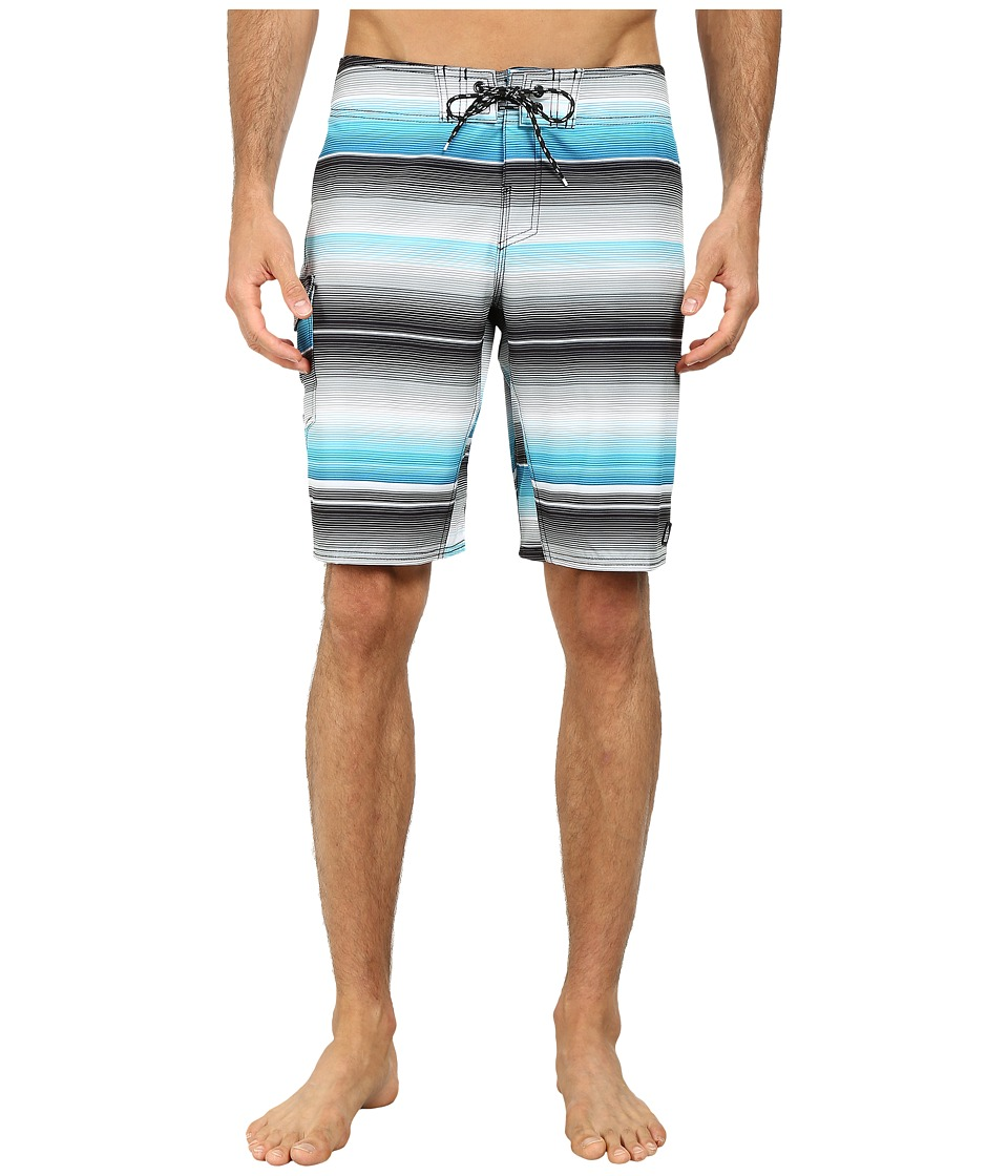 Reef - River Boardshorts (Black) Men's Swimwear
