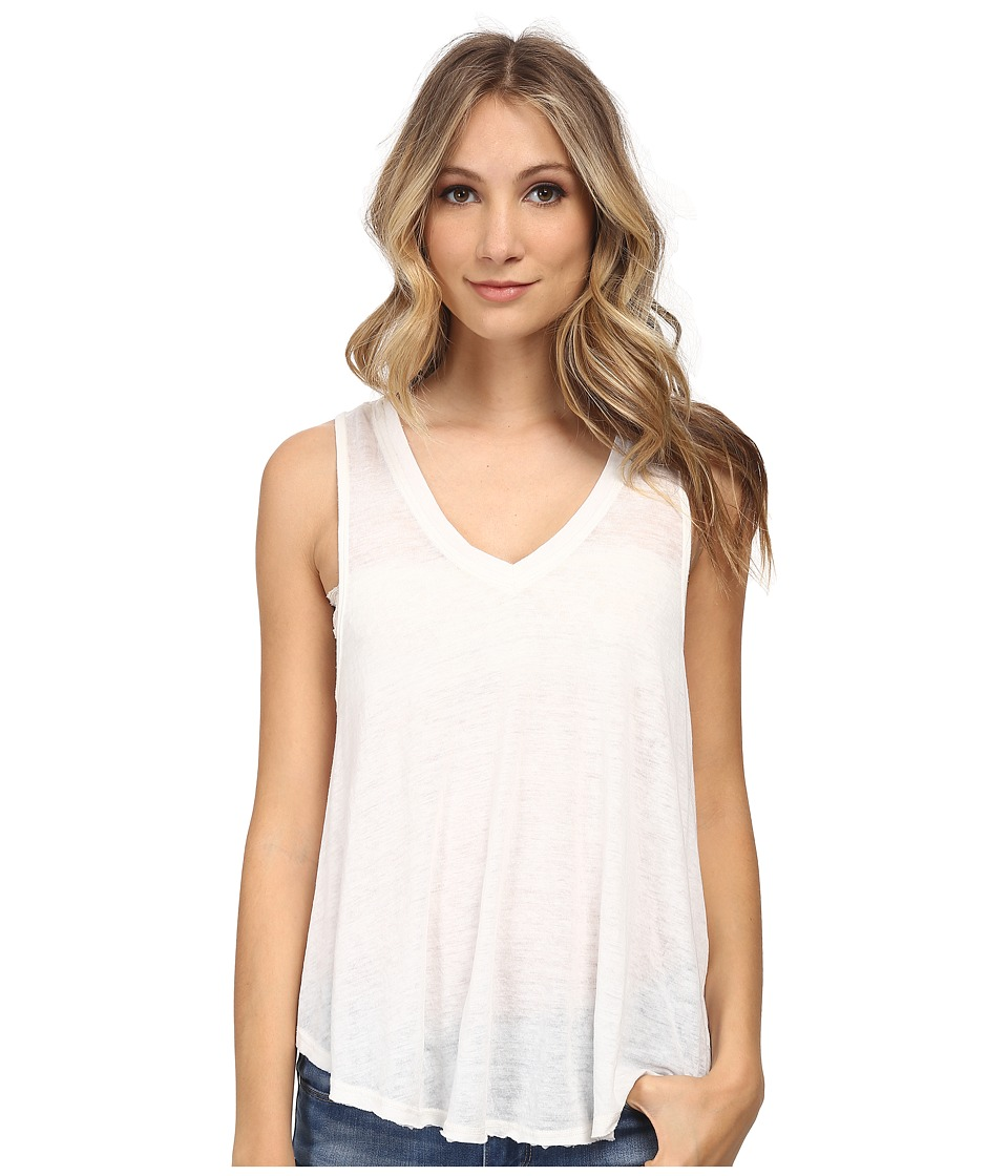 Free People - Breezy Tank (True White) Women's Sleeveless