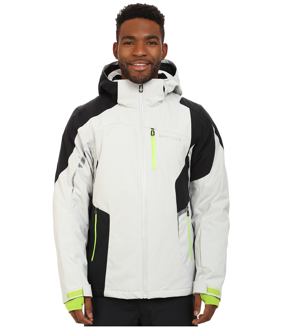 Spyder - Chambers Jacket (Cirrus/Black/Theory Green) Men's Jacket