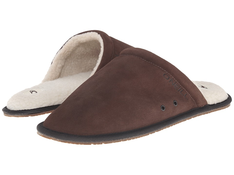 O'Neill - Rico Suede (Dark Brown) Men's Slippers