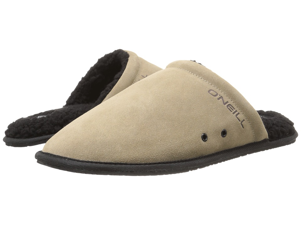 O'Neill - Rico Suede (Tan) Men's Slippers