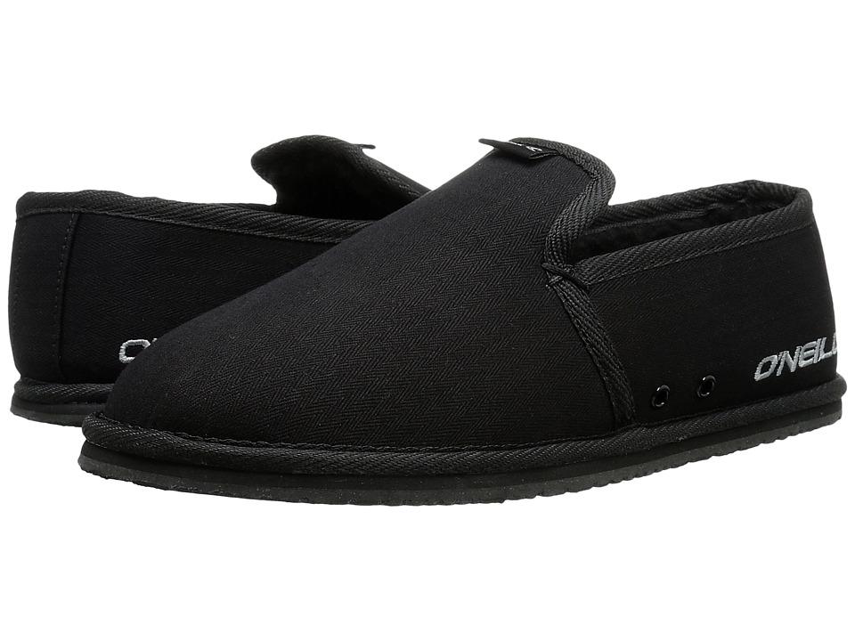 O'Neill - Surf Turkey Low 2 (Black 2) Men's Slippers