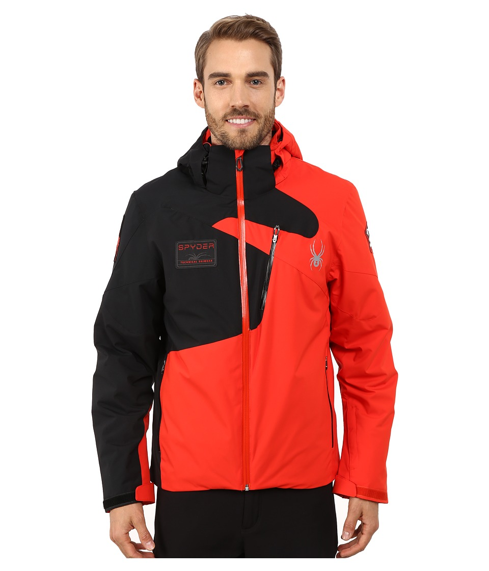Spyder - Tripoint Jacket (Volcano/Black) Men's Coat