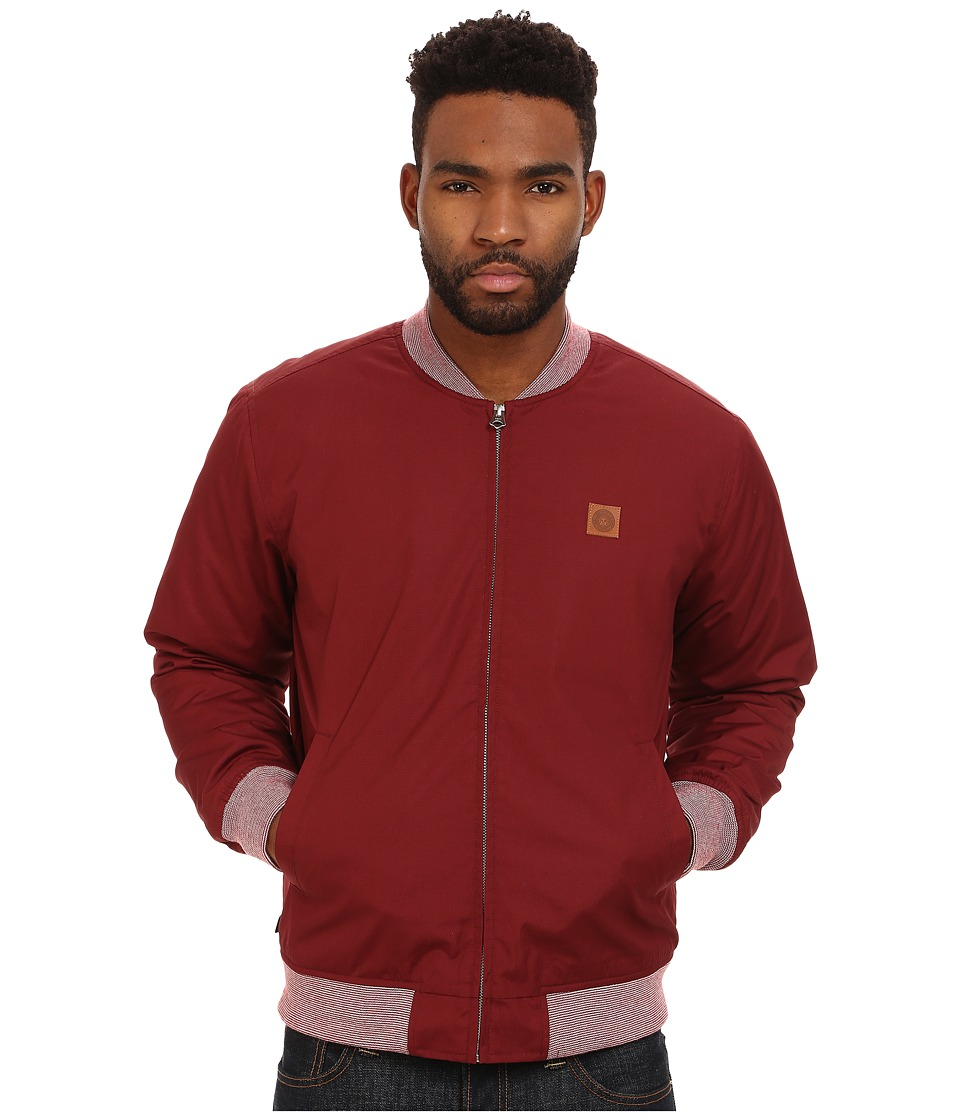 Obey - Stevenson Jacket (Burgundy) Men's Coat