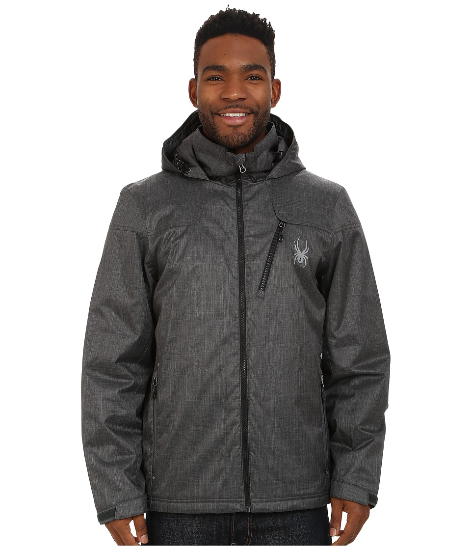 Spyder - Vyrse Jacket (Polar Crosshatch/Black) Men's Jacket