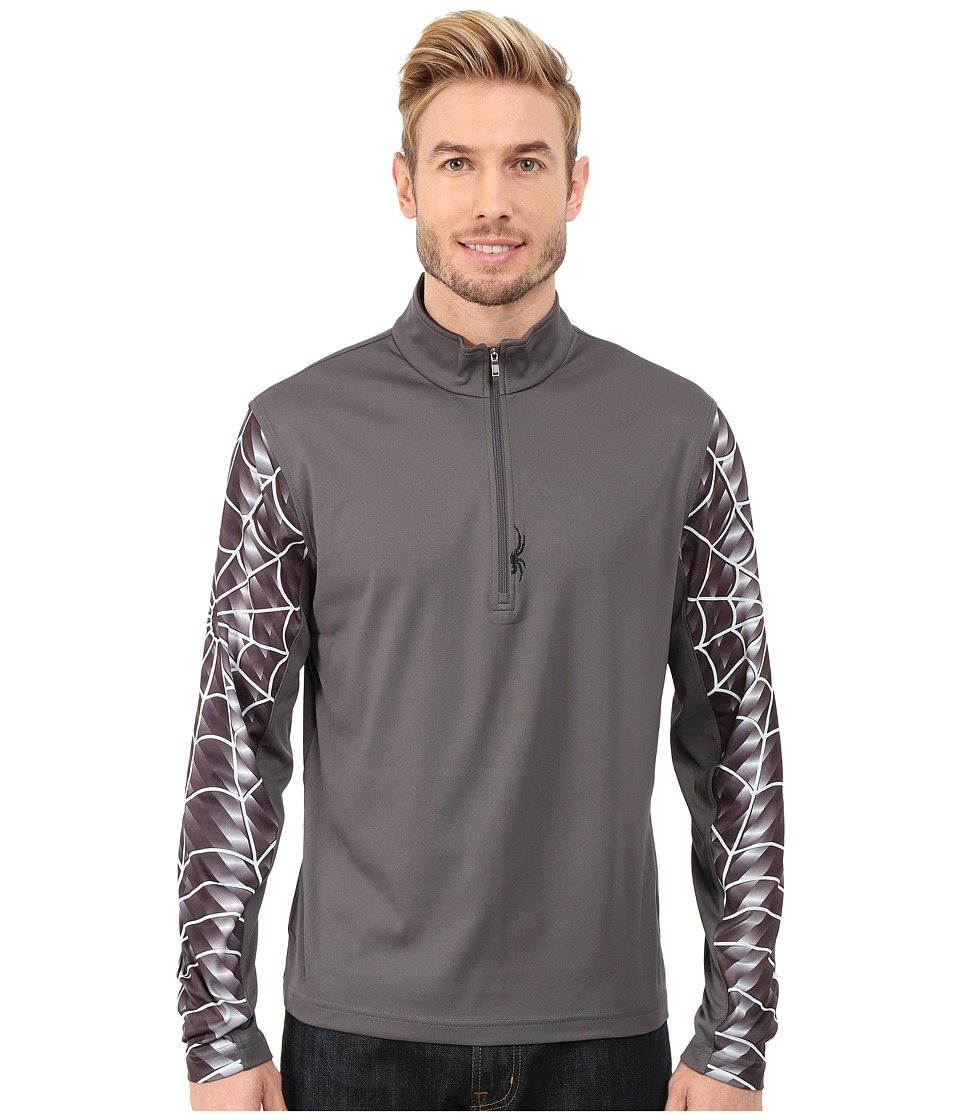 Spyder - Webstrong Dry W.E.B. T-Neck Top (Polar/Cirrus) Men's Long Sleeve Pullover