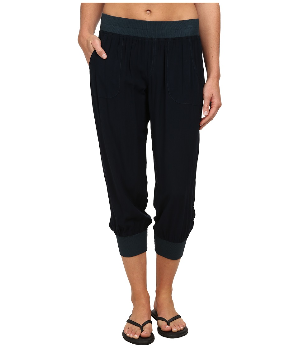 Pink Lotus - Leisure Woven Sweatpants (Slate) Women's Workout
