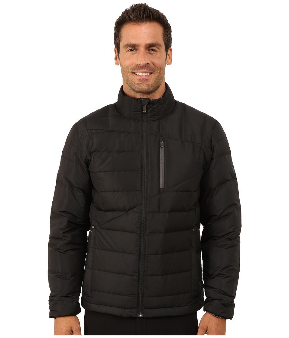 Spyder - Dolomite Full Zip Down Jacket (Black/Polar) Men