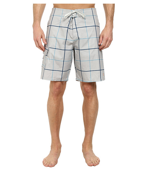 Quiksilver Waterman - Square Root 4 Boardshort (Concrete) Men's Swimwear