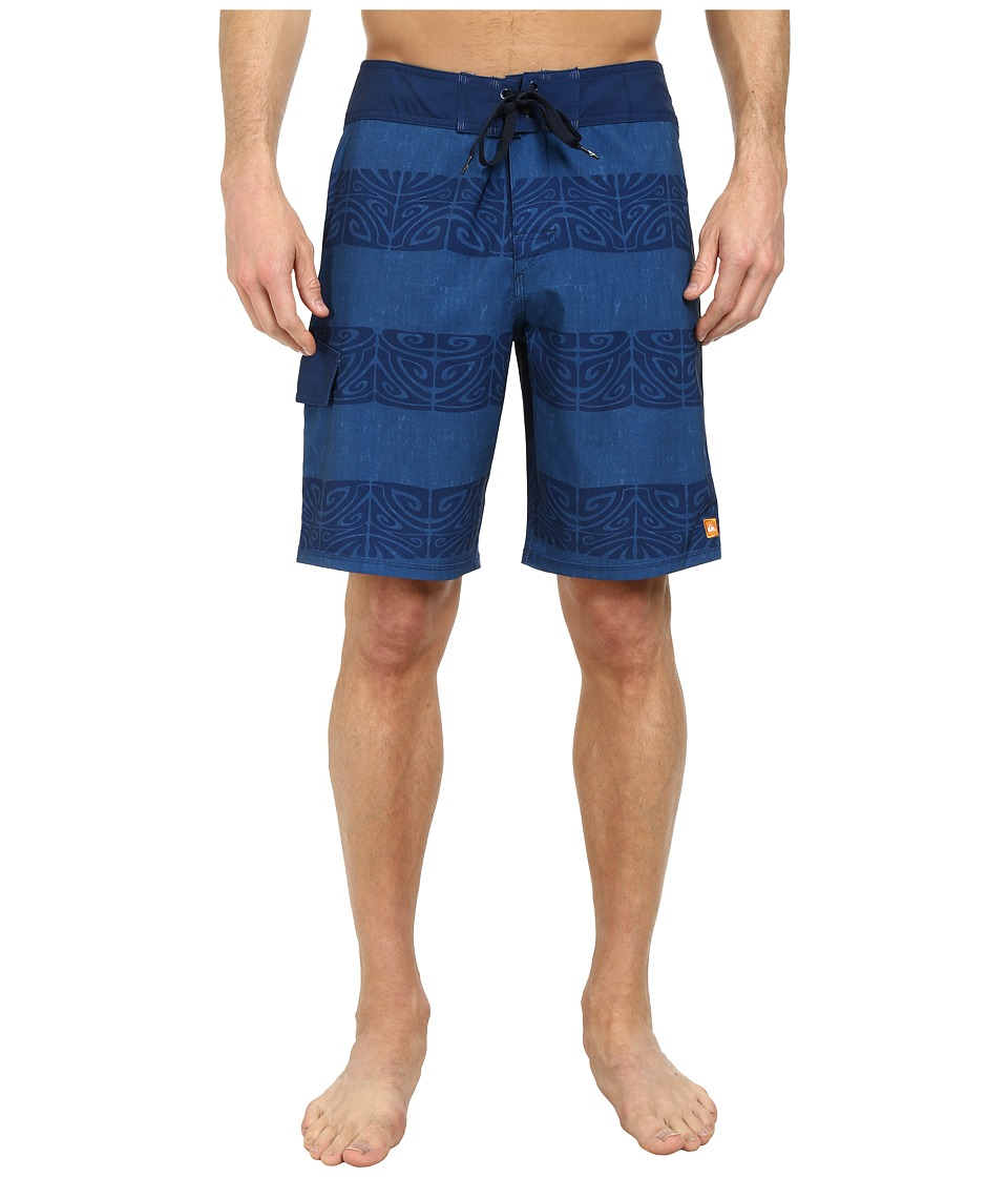 Quiksilver Waterman - Traverse Boardshorts (Bluefish) Men's Swimwear
